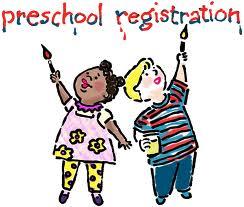 Preschool registration - March 13, 2018, from 4-6pm at Foley Elementary School.