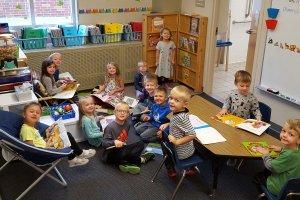Foley Elementary Preschool Readiness students, Oct., 2017.