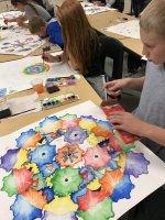 7th grade watercolorists