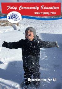 Foley Community Education Winter-Spring 2018 Brochure